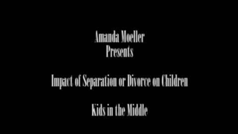 Thumbnail for entry Raising Healthy Kids: The Impact of Separation and Divorce on Children and Families - How Parents Can Help Their Kids