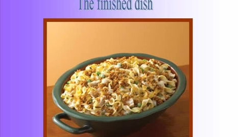 Thumbnail for entry Egg Noodle Tuna Casserole