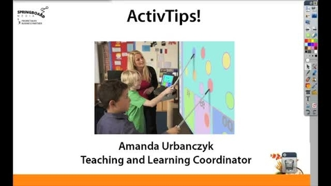 Thumbnail for entry Creating Virtual Fieldtrips with your Promethean Board