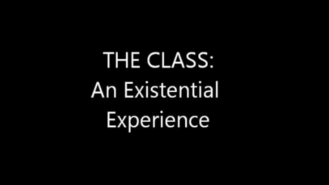 """Thumbnail for entry 2011-2012 """"The Class"""""""