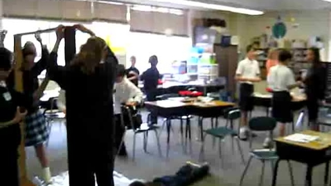 Thumbnail for entry St. Louis School Engineering Day -Egg Bungee Experiment