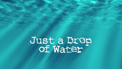 Thumbnail for entry Book Trailer: Just a  Drop of Water