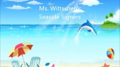 Thumbnail for entry Seaside Signers Day 6