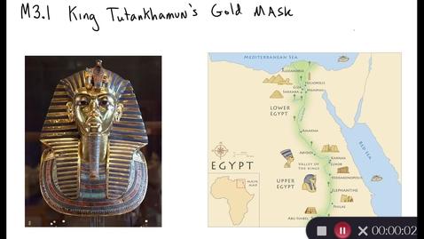 Thumbnail for entry Clip of M3.1 King Tutankhamun's Gold Mask