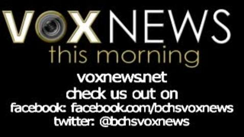 Thumbnail for entry VOX News this Morning for November 11, 2015