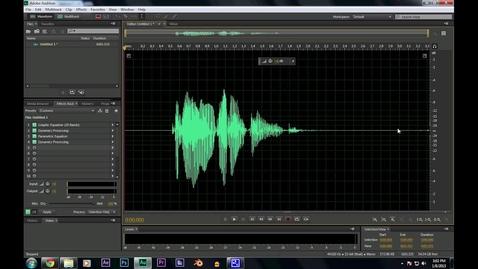 Thumbnail for entry Audio Tutorial