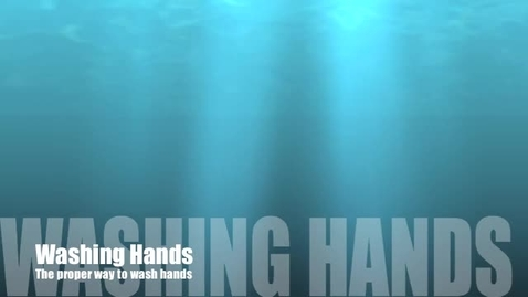 Thumbnail for entry Washing Hands