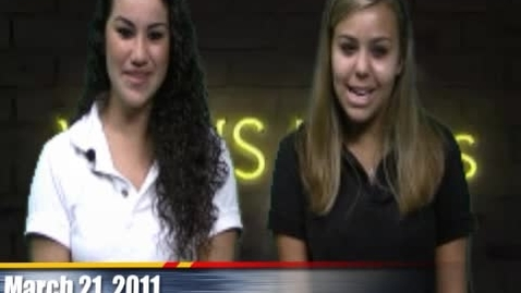 Thumbnail for entry WAHS News Show 3/21/11