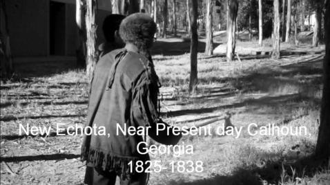 Thumbnail for entry New Echota, Calhoun, Georgia