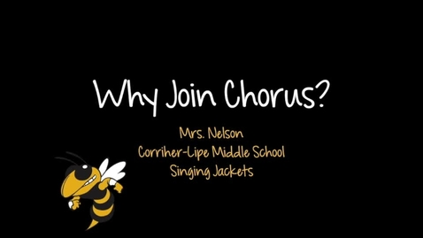 Thumbnail for entry CLMS Chorus