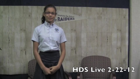 Thumbnail for entry HDS LIve 2-22-12