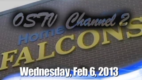 Thumbnail for entry The Falcon Daily  Wednesday, February 6, 2013