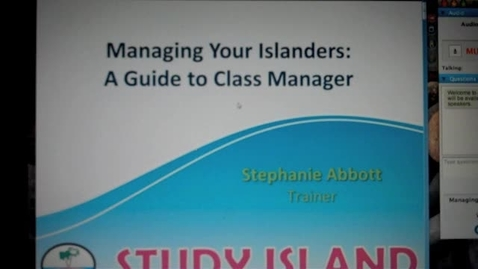 Thumbnail for entry Study Island Set-up