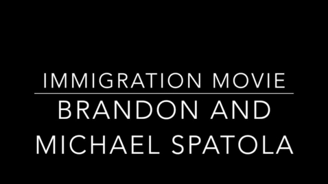 Thumbnail for entry Michael and Brandon Immigration Interview