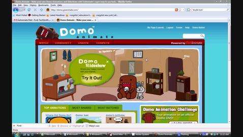 Thumbnail for entry Domo Animation Studio