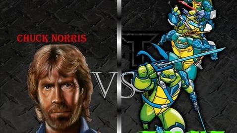 Thumbnail for entry Epic Battle!: Chuck Norris VS TMNT