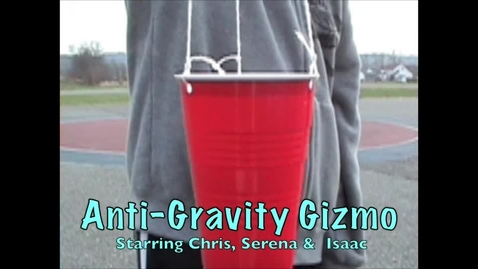 Thumbnail for entry Anti-Gravity Gizmo