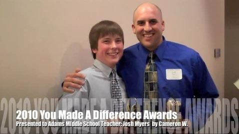 Thumbnail for entry 2010 Coughlin You Made A Difference Awards