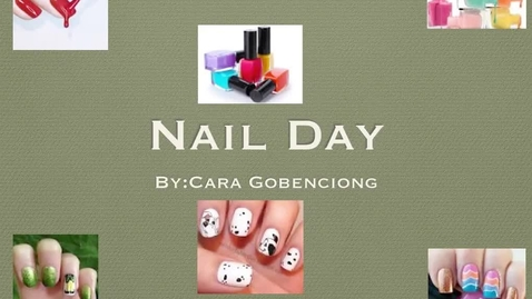 Thumbnail for entry Nail Day