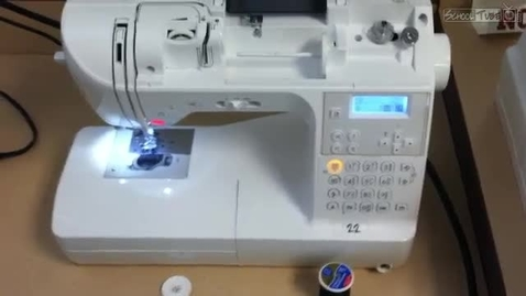 Thumbnail for entry How to thread a Babyloc Machine