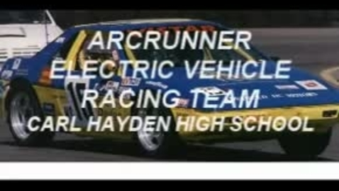 Thumbnail for entry Arcrunner Electric Vehicle Racing team