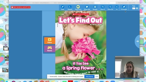 Thumbnail for entry Let's Find Out Spring Read Aloud