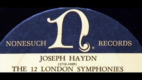 """Thumbnail for entry Haydn: """"London"""" Symphony No. 104 in D major - Movement 2 