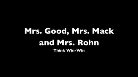 Thumbnail for entry Mrs. Good, Mrs. Mack, and Mrs. Rohn