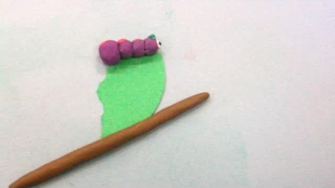 Thumbnail for entry 2012 JMS Claymation Candace the Caterpillar