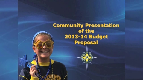 Thumbnail for entry Budget presentation 2013