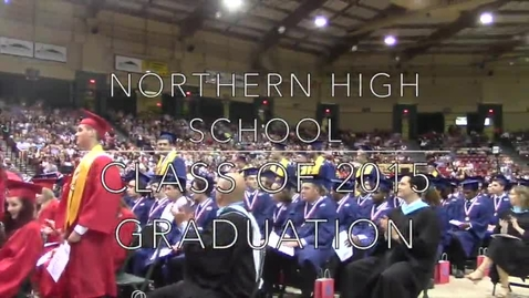 Thumbnail for entry NHS Graduation 2015