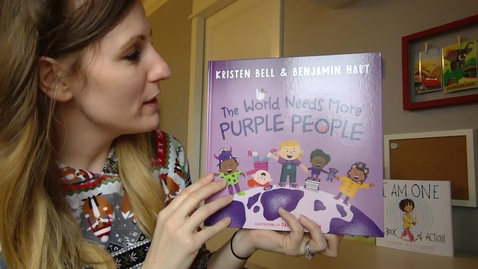 Thumbnail for entry The World Needs More Purple People - Mrs. Anderson