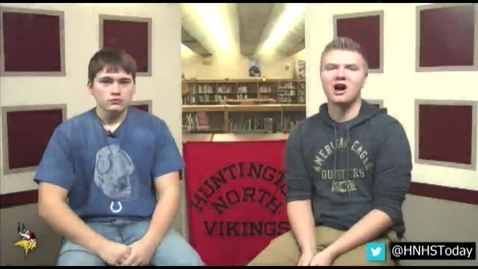 Thumbnail for entry HNHS Today 11.23.2015