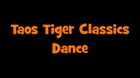 Thumbnail for entry Taos High School Dance/Drill Team 2016