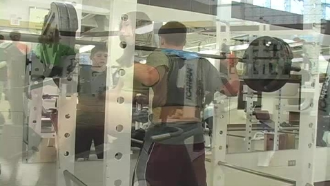 Thumbnail for entry weightlifting class feature at Pymatuning Valley