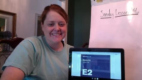 Thumbnail for entry Mrs. Nolen- Sonday Lesson 146
