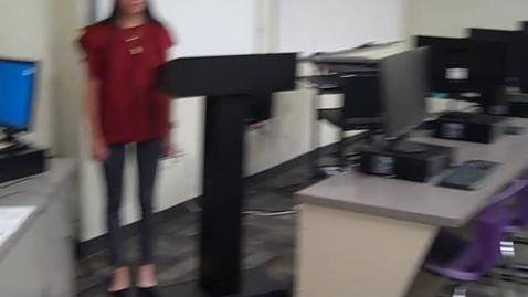 Thumbnail for entry Sofia Mendez Speech 1