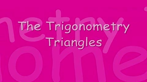 Thumbnail for entry Triangle Math