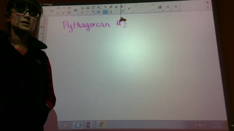 Thumbnail for entry Pythagorean Theorem 2