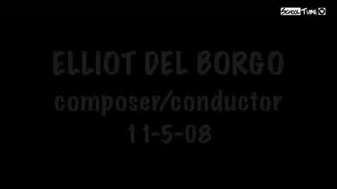 Thumbnail for entry 2009 Elliot Del Borgo Clinic Part 4