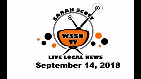 Thumbnail for entry WSSN NEWS Sept 14, 2018