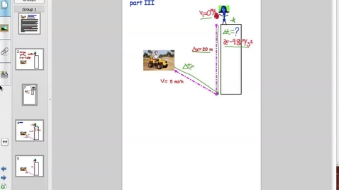 Thumbnail for entry Free Fall Problems - Mrs. Grantham's Fabulous Physics part III