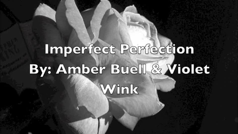 Thumbnail for entry Imperfect Perfection