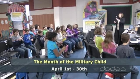 Thumbnail for entry DoDEA Salutes Military Children
