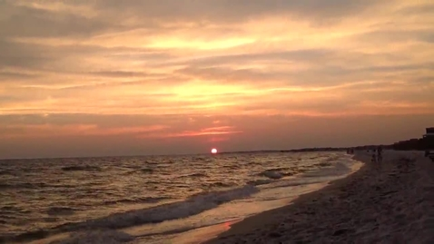 Thumbnail for entry Sunset at Mexico Beach