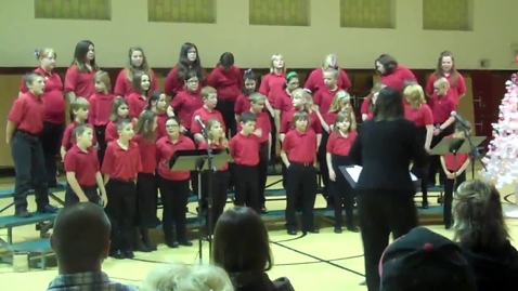 Thumbnail for entry Woodland Honor Choir Christmas Concert Part 6