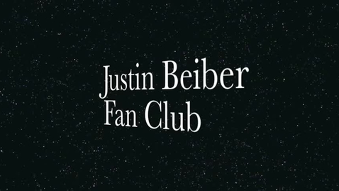 Thumbnail for entry Beiber Fan Club