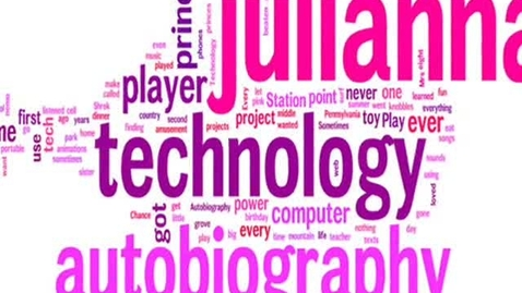 Thumbnail for entry Julianna technology autobiography