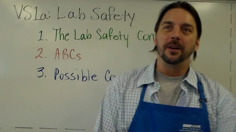 Thumbnail for entry VS1a - Lab Safety