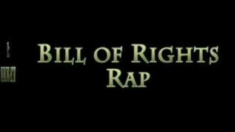 Thumbnail for entry bill of rights rap with lyrics! (free to download..deats in description)